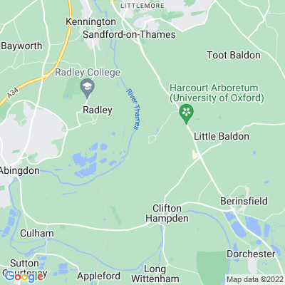 Nuneham Courtenay Location