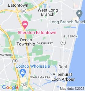 Oakhurst NJ Map