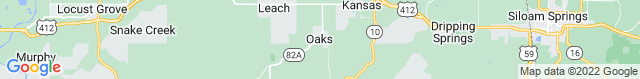 Map of OK