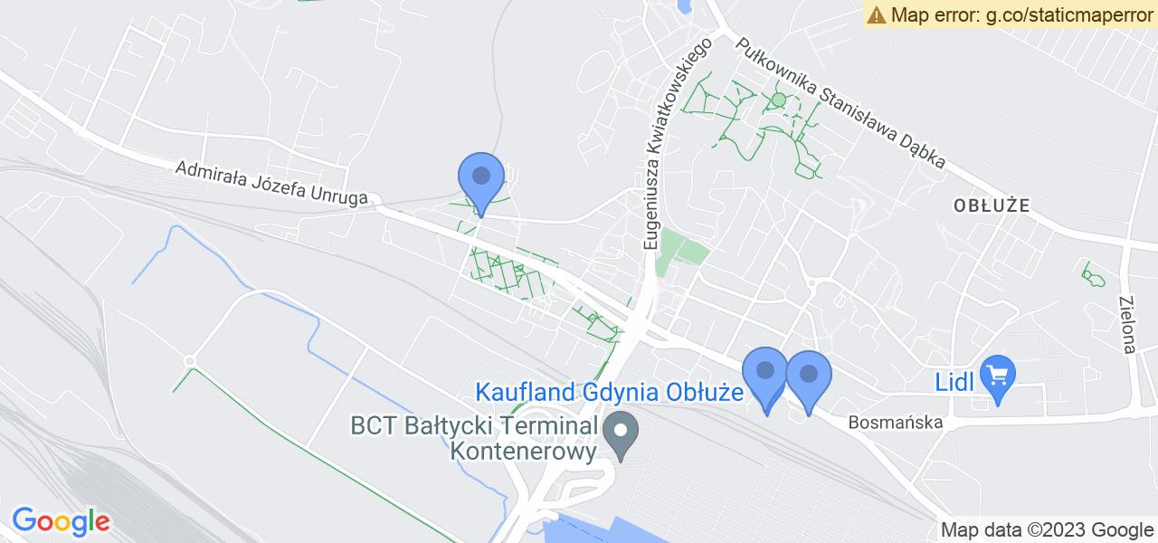 Osiedle Obłuże Leśne w Gdyni – w tych punktach ekspresowo wyślesz turbinę do autoryzowanego serwisu