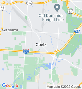 Obetz OH Map