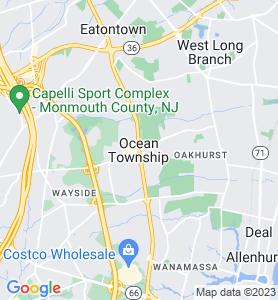 Ocean NJ Map