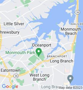 Oceanport NJ Map