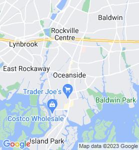 Oceanside NY Map