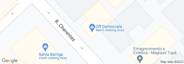 Google Map of Off Democrata - Tupã - SP