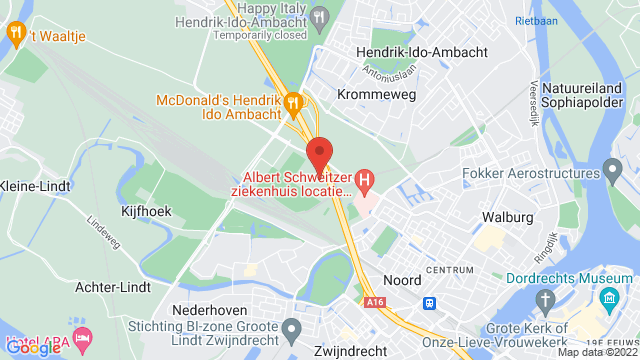 Zwijndrecht op Google Maps
