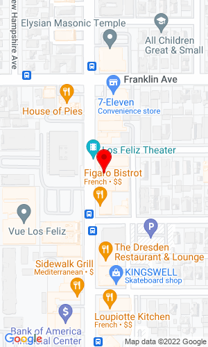 Google Map of On The Road Trucking 2059 1/2 N Vermont Avenue, Los Angeles, CA, 90027