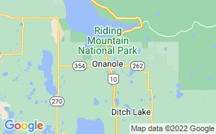 Map of Onanole RV Park & Campground
