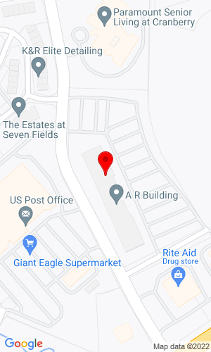 Google Map of Asset Nation/Asset Auctions One Adams Place 310 Seven Fields Blvd Suite 351, Seven Fields, PA, 16046