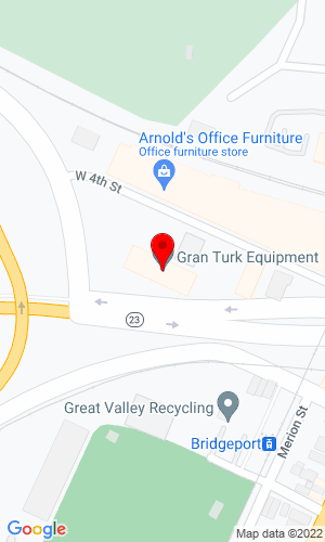 Google Map of GranTurk Equipment Inc One Schuylkill Parkway, Building B , Bridgeport, PA, 19405-1069