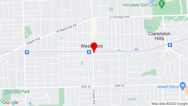 Google Map of One S Cass Ave #102, Westmont, IL 60559