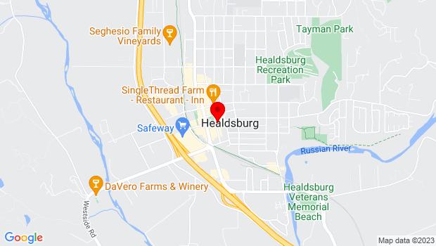 Google Map of Online Virtual, Healdsburg, CA 95448