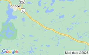 Map of Upsala Campground