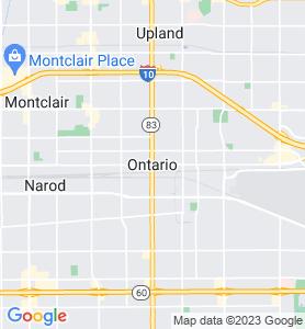 Ontario CA Map