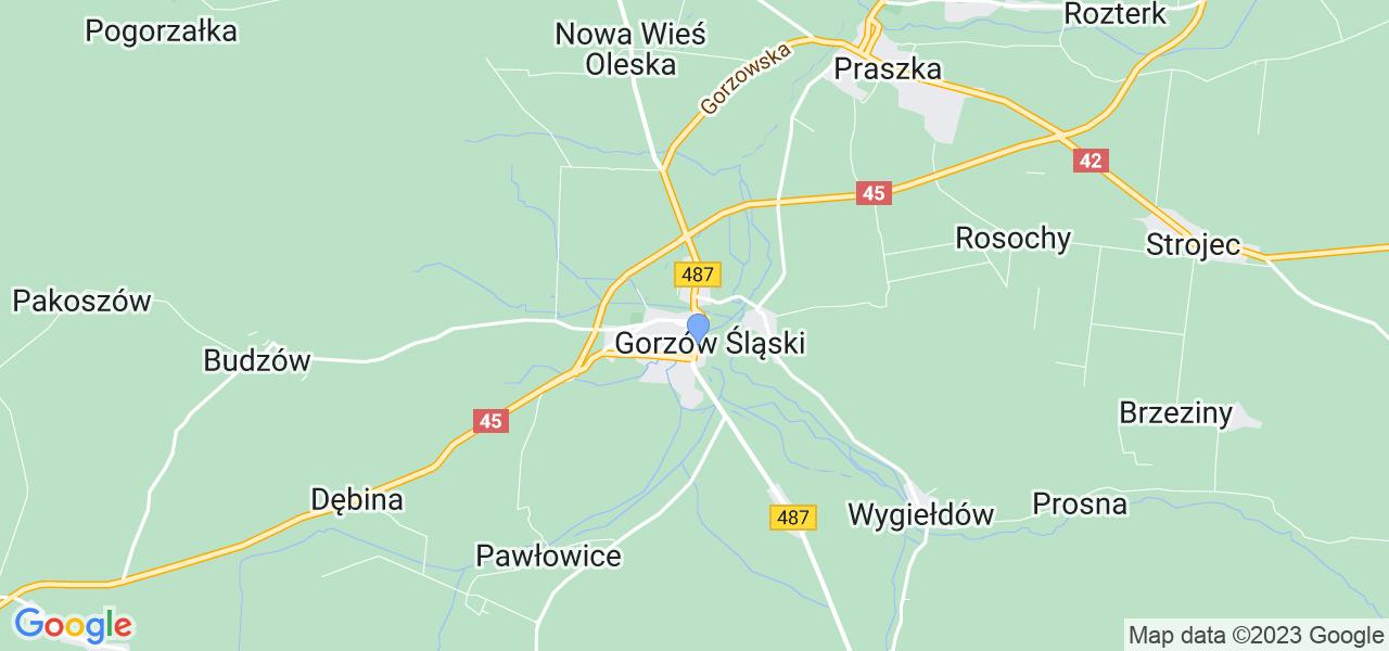 Dostępne w Gorzowie Śląskim lokalizacje punktów nadania, z których możesz skorzystać, chcąc wysłać turbinę do regeneracji w największym serwisie w Polsce