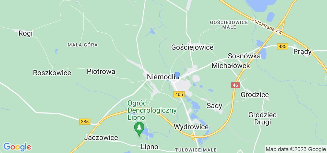 Dostępne w Niemodlinie lokalizacje punktów nadania, z których możesz skorzystać, chcąc wysłać turbinę do regeneracji w największym serwisie w Polsce