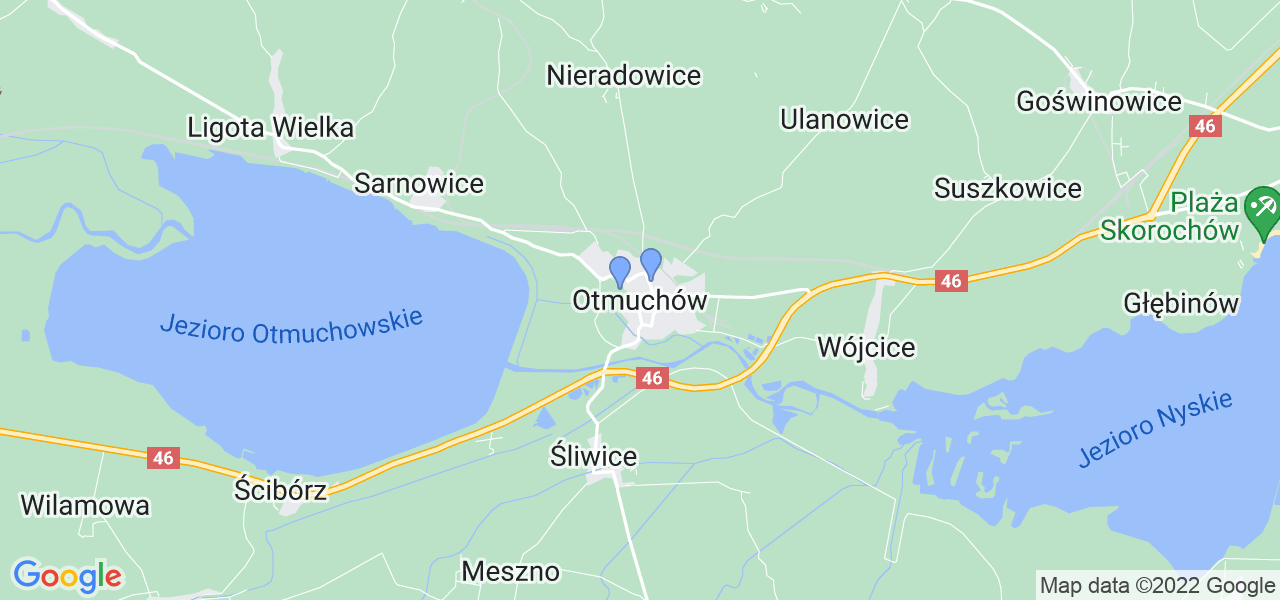 Dostępne w Otmuchowie lokalizacje punktów nadania, z których możesz skorzystać, chcąc wysłać turbinę do regeneracji w największym serwisie w Polsce