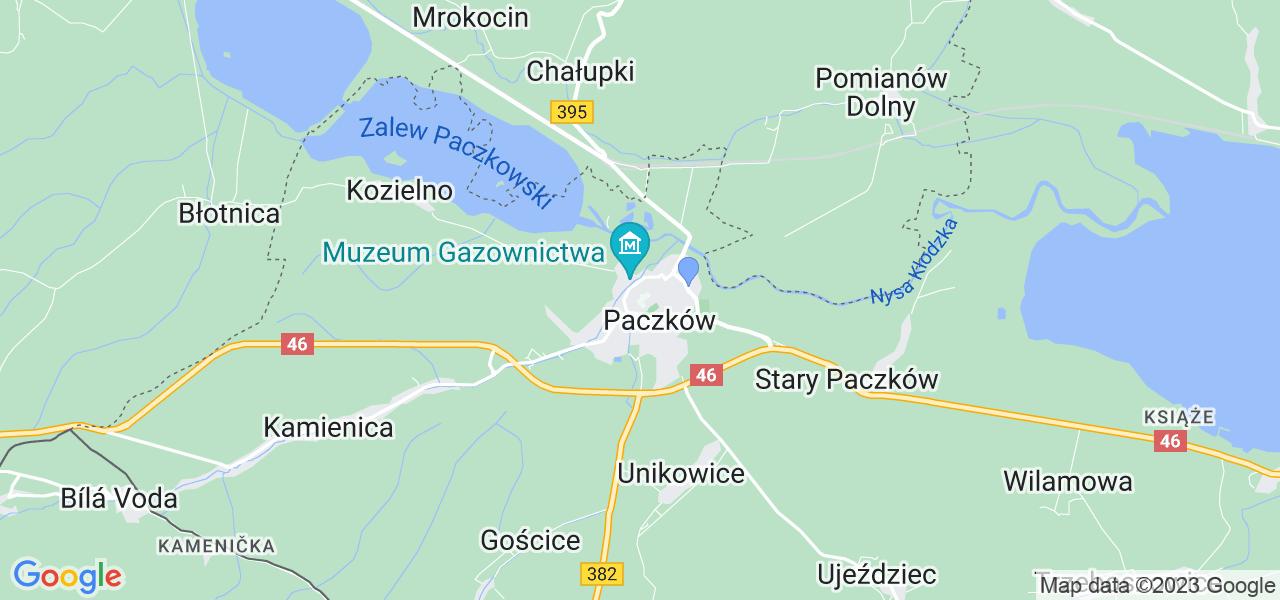 Dostępne w Paczkowie lokalizacje punktów nadania, z których możesz skorzystać, chcąc wysłać turbinę do regeneracji w największym serwisie w Polsce