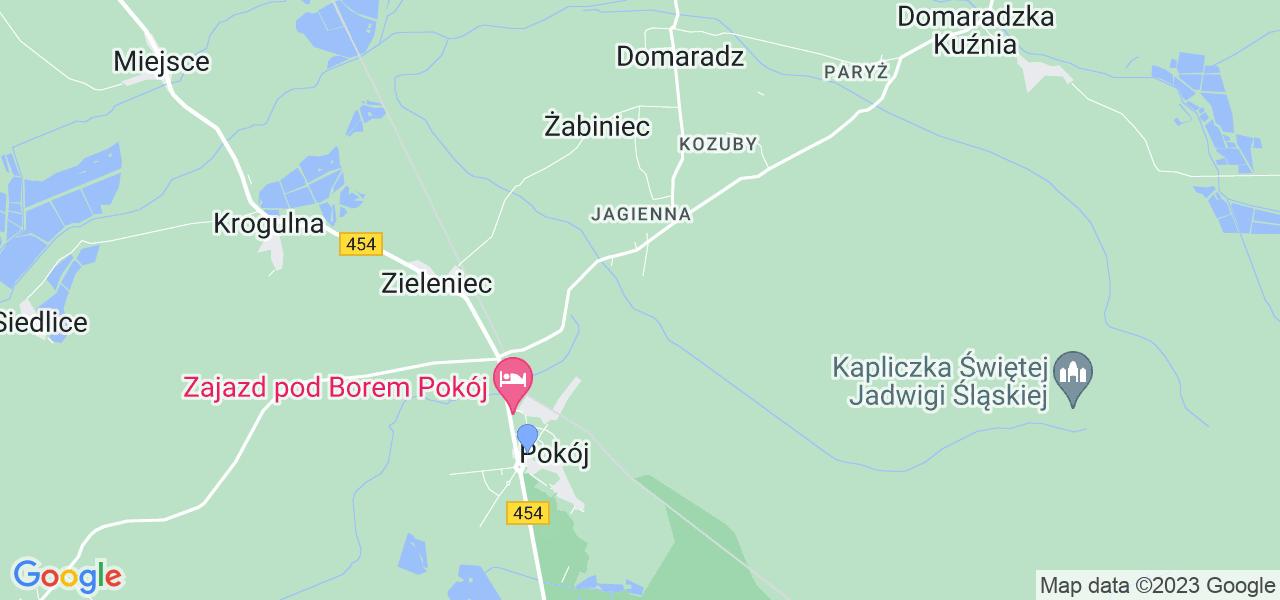 Dostępne w Pokoju lokalizacje punktów nadania, z których możesz skorzystać, chcąc wysłać turbinę do regeneracji w największym serwisie w Polsce
