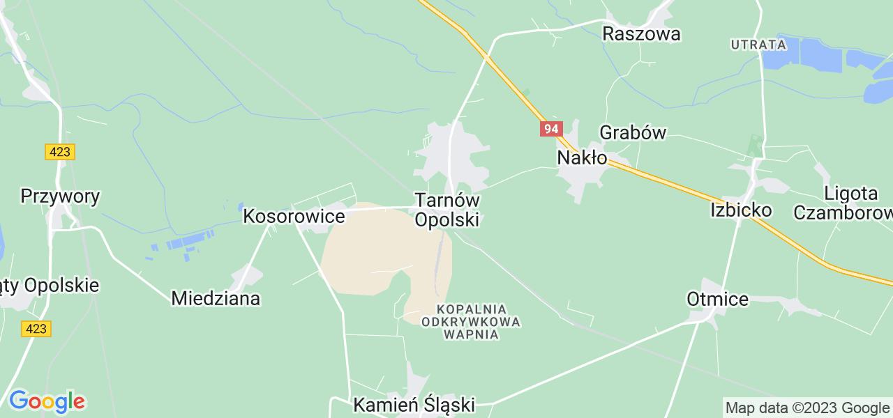Dostępne w Tarnowie Opolskim lokalizacje punktów nadania, z których możesz skorzystać, chcąc wysłać turbinę do regeneracji w największym serwisie w Polsce
