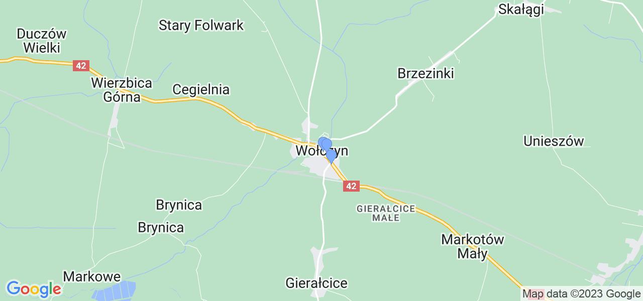 Dostępne w Wołczynie lokalizacje punktów nadania, z których możesz skorzystać, chcąc wysłać turbinę do regeneracji w największym serwisie w Polsce