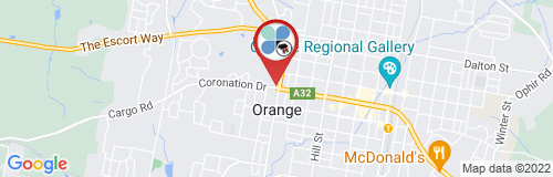 Orange google map