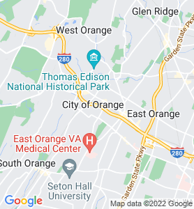 Orange NJ Map