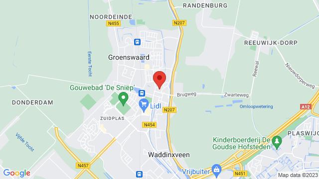 Boonstoppel+Waddinxveen op Google Maps