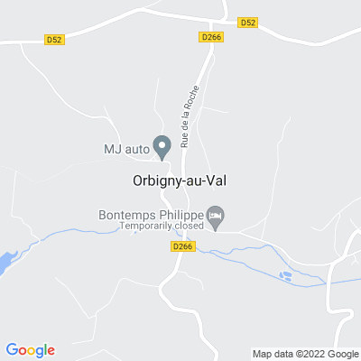 bed and breakfast Orbigny-au-Val