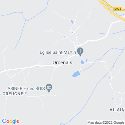 bed and breakfast Orcenais