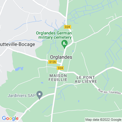 bed and breakfast Orglandes