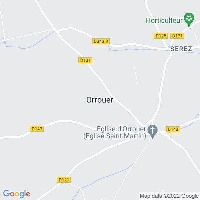 bed and breakfast Orrouer