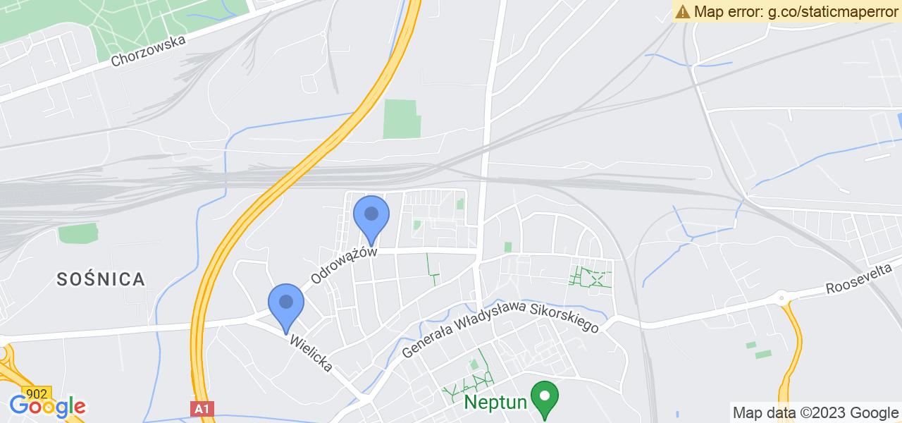 Osiedle Osiedle Bema w Gliwicach – w tych punktach ekspresowo wyślesz turbinę do autoryzowanego serwisu