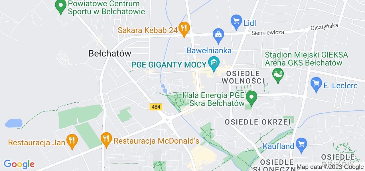 Osiedle Osiedle Budowlanych w Bełchatowie – w tych punktach ekspresowo wyślesz turbinę do autoryzowanego serwisu