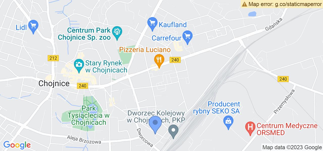 Osiedle Osiedle Budowlanych w Chojnicach – w tych punktach ekspresowo wyślesz turbinę do autoryzowanego serwisu