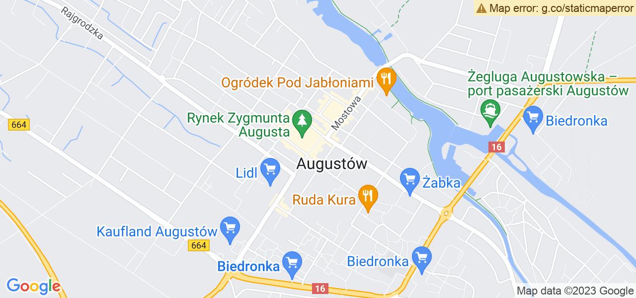Osiedle Osiedle Generała Bema w Augustowie – w tych punktach ekspresowo wyślesz turbinę do autoryzowanego serwisu
