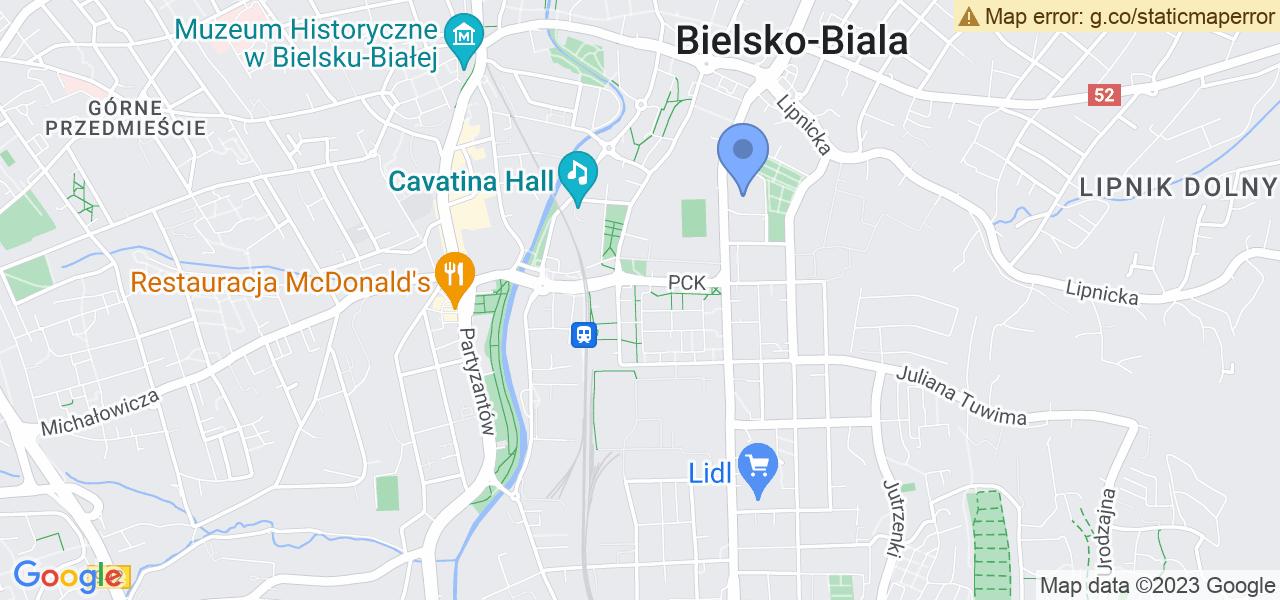 Osiedle Osiedle Grunwaldzkie w Bielsku-Białej – w tych punktach ekspresowo wyślesz turbinę do autoryzowanego serwisu
