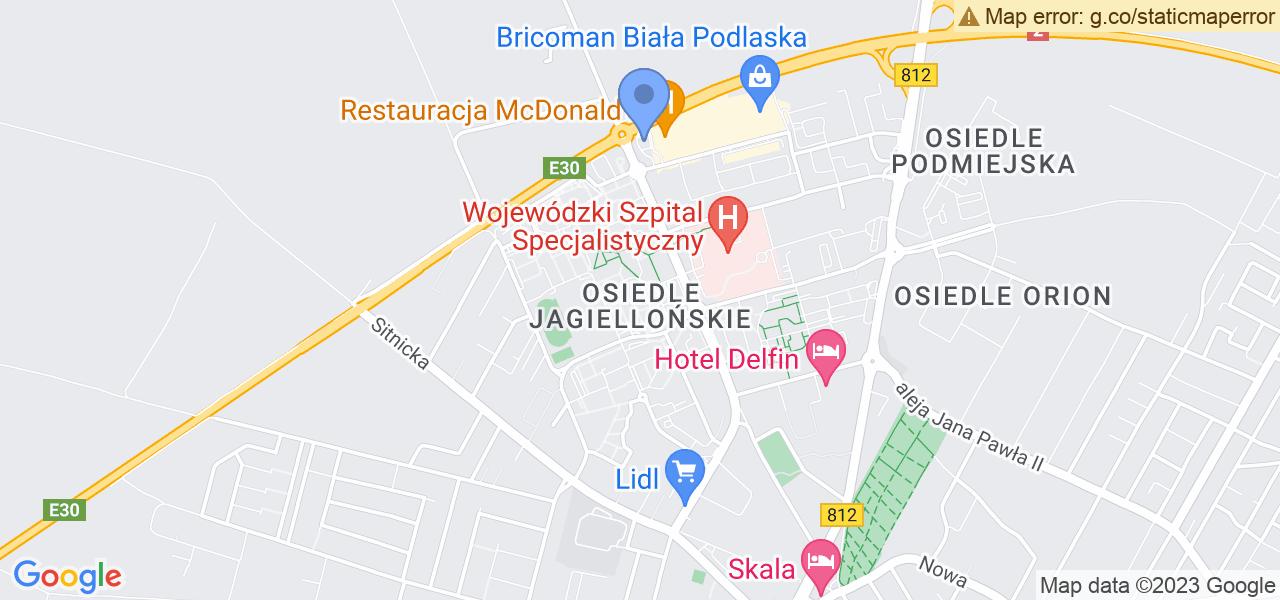 Osiedle Osiedle Jagiellońskie w Białej Podlaskiej – w tych punktach ekspresowo wyślesz turbinę do autoryzowanego serwisu