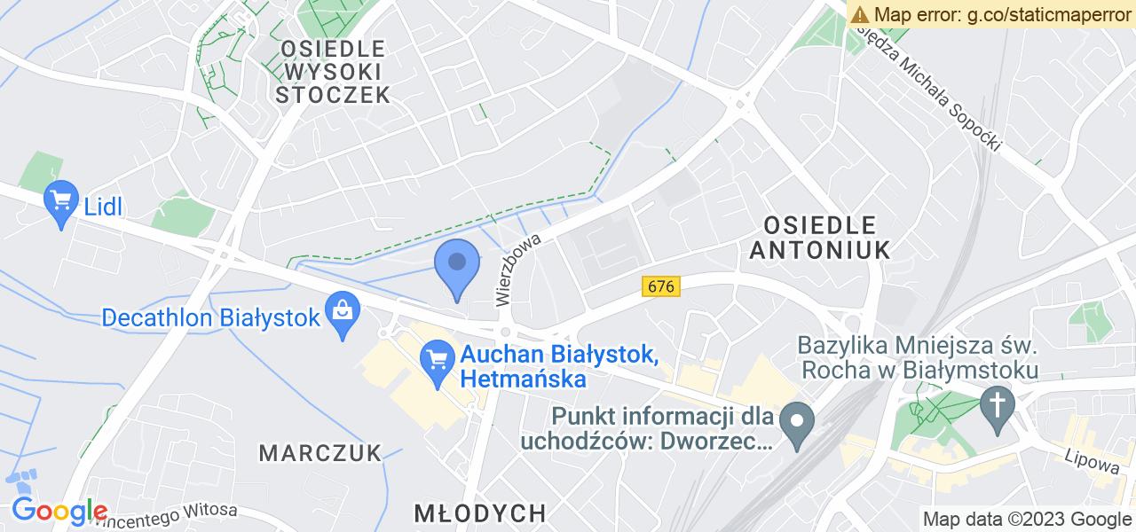 Osiedle Osiedle Juliana Tuwima w Białymstoku – w tych punktach ekspresowo wyślesz turbinę do autoryzowanego serwisu