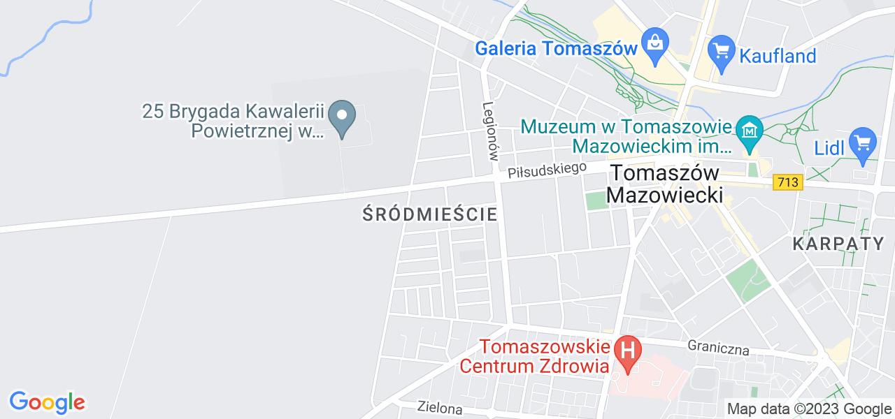 Osiedle Osiedle Kanonierów w Tomaszowie Mazowieckim – w tych punktach ekspresowo wyślesz turbinę do autoryzowanego serwisu