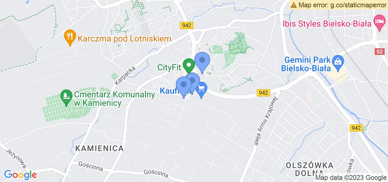 Osiedle Osiedle Karpackie w Bielsku-Białej – w tych punktach ekspresowo wyślesz turbinę do autoryzowanego serwisu