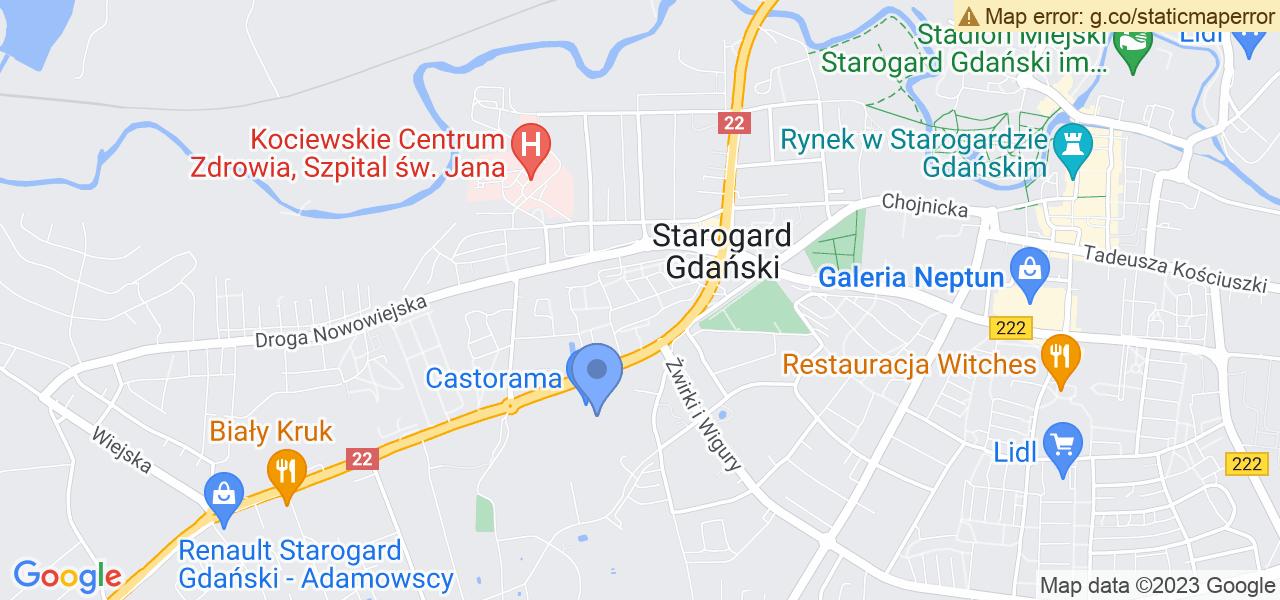 Osiedle Osiedle Konstytucji 3 Maja w Starogardzie Gdańskim – w tych punktach ekspresowo wyślesz turbinę do autoryzowanego serwisu
