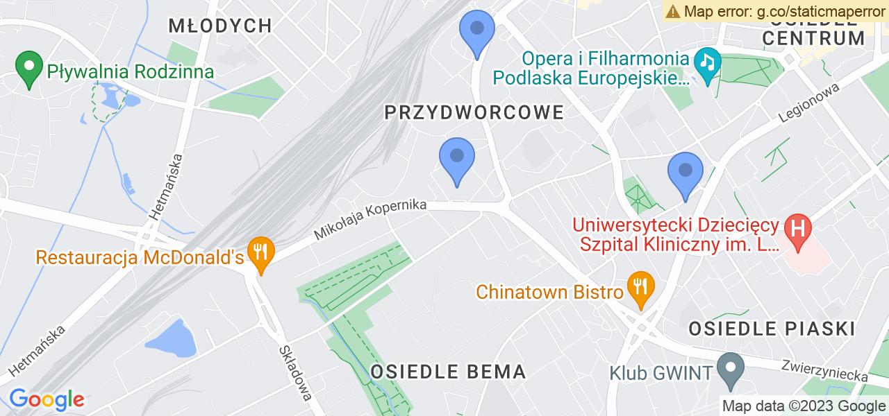 Osiedle Osiedle Kopernika w Białymstoku – w tych punktach ekspresowo wyślesz turbinę do autoryzowanego serwisu
