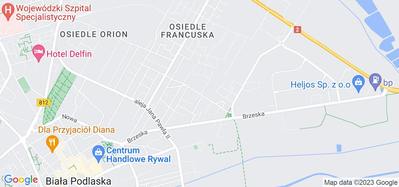 Osiedle Osiedle Kosynierów w Białej Podlaskiej – w tych punktach ekspresowo wyślesz turbinę do autoryzowanego serwisu