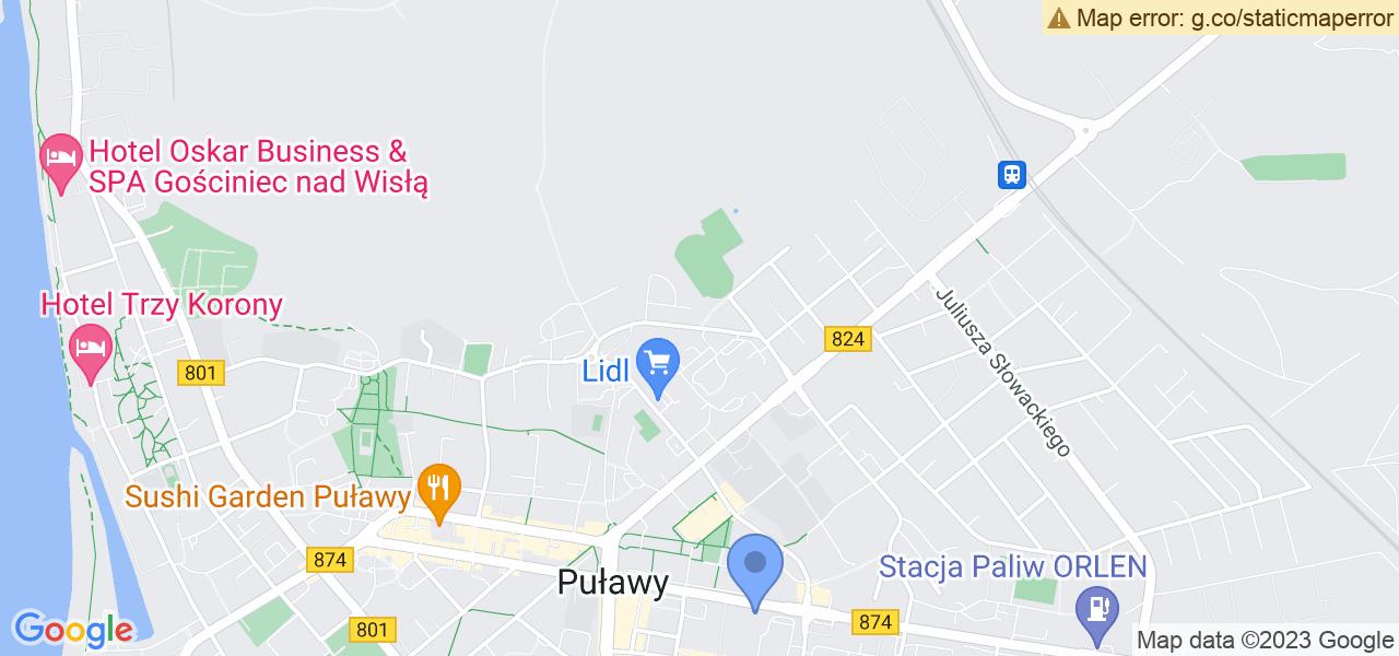 Osiedle Osiedle Kusocińskiego w Puławach – w tych punktach ekspresowo wyślesz turbinę do autoryzowanego serwisu