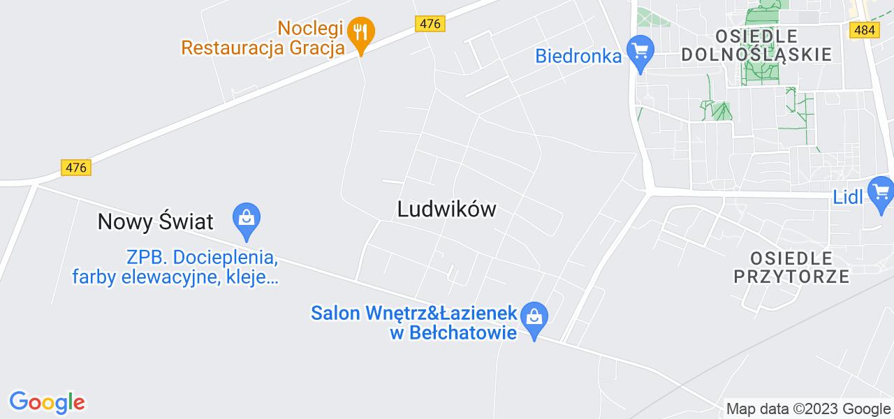 Osiedle Osiedle Ludwików w Bełchatowie – w tych punktach ekspresowo wyślesz turbinę do autoryzowanego serwisu