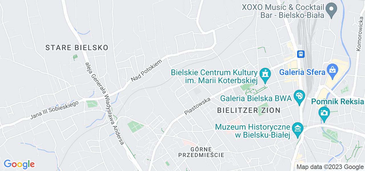 Osiedle Osiedle Mieszka I w Bielsku-Białej – w tych punktach ekspresowo wyślesz turbinę do autoryzowanego serwisu