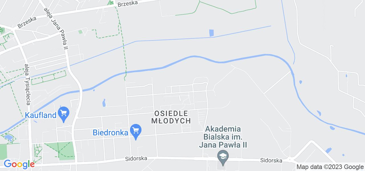 Osiedle Osiedle Na Skarpie w Białej Podlaskiej – w tych punktach ekspresowo wyślesz turbinę do autoryzowanego serwisu