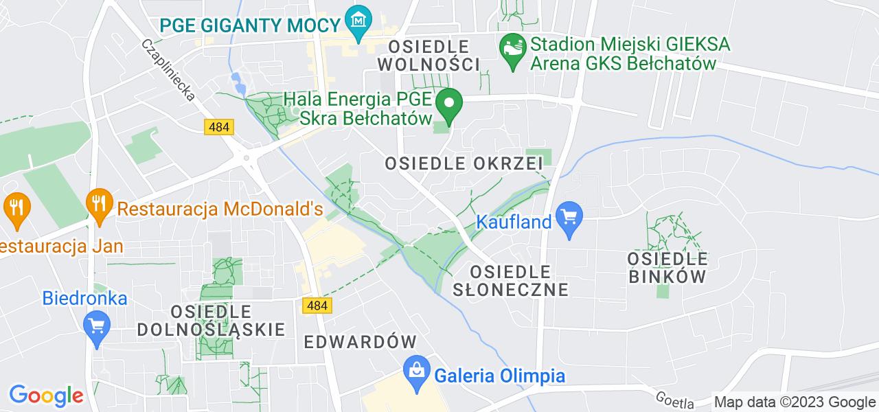 Osiedle Osiedle Okrzei w Bełchatowie – w tych punktach ekspresowo wyślesz turbinę do autoryzowanego serwisu