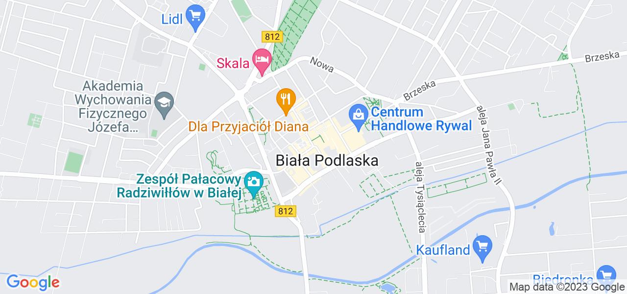 Osiedle Osiedle Parkowe w Białej Podlaskiej – w tych punktach ekspresowo wyślesz turbinę do autoryzowanego serwisu